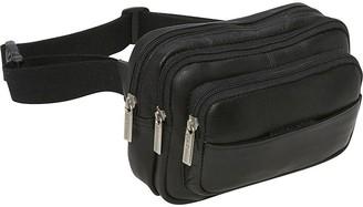 Le Donne LeDonne Leather Fanny Pack or Waist Bag - Tri Zip