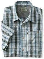 L.L. Bean Cool Weave Shirt, Short-Sleeve Plaid
