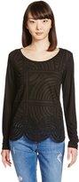 Desigual TS SIX2000 NEGRO T-shirt S Woman