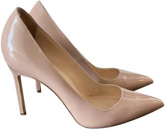 Manolo Blahnik Beige Patent leather Heels