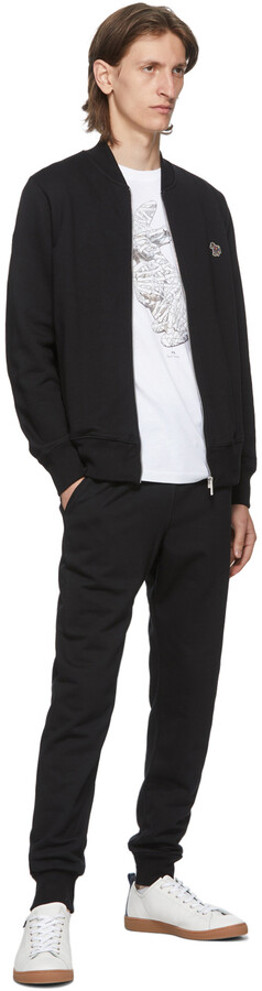 Thumbnail for your product : Paul Smith Black Slim Jogger Lounge Pants