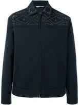 Valentino studded field jacket - men - Lyocell/Virgin Wool/Cotton/Brass - 50