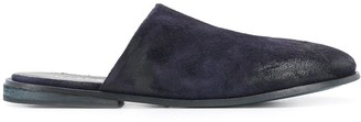 Marsèll Low-Heel Round-Toe Slippers