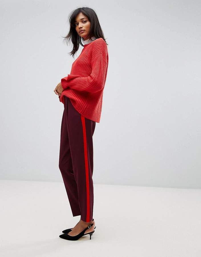 Oasis Tailored Side Stripe Pant