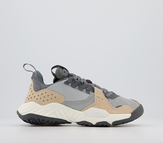 Jordan Delta Trainers Grey Fog Iron Grey Smoke Grey White Onyx Sail