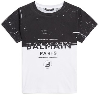 Balmain Kids Slogan T-Shirt