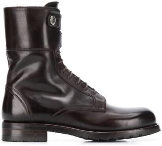 Alberto Fasciani Windy decorative button ankle boots