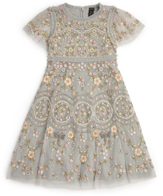 Needle & Thread Sweet Petal Embroidered Dress (4-10 Years)