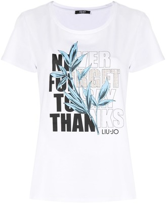 Liu Jo Never Forget To Say Thanks T-shirt