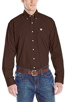Cinch Men's Long Sleeve Button Down Solid