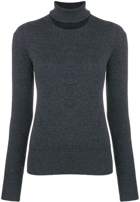 Chalayan Split Neck Sweater