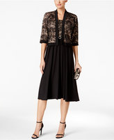 R & M Richards Lace A-Line Dress and Jacket