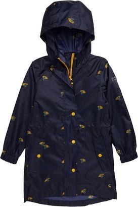 Joules Golightly Packable Waterproof Raincoat