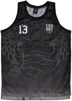 Crooks & Castles Trece Basketball Jersey Tank Top