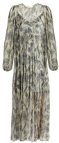 Zimmermann Adorrn Bird Chintz-print silk-chiffon dress