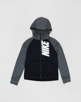 Nike Dry GFX Full-Zip Fleece Hoodie - Teens