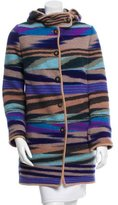 Missoni Intarsia Wool Coat