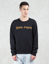 Palm Angels Logo Embroidery Sweatshirt