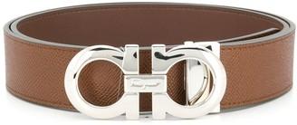 Salvatore Ferragamo reversible adjustable Gancini belt