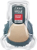 Dove Men+Care Shower Tool, Dual Sided, Pack of 4