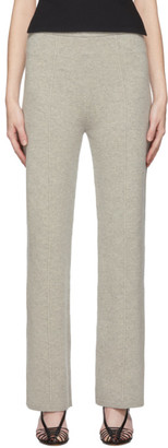 Joseph Grey Soft Wool Knit Trousers
