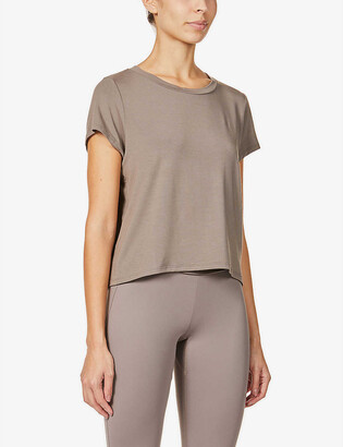 Vaara Nadia relaxed-fit stretch-jersey T-shirt