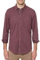 Buffalo David Bitton Sagaw Windowpane Button-Down Shirt