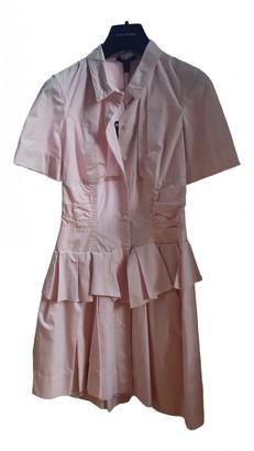Louis Vuitton Pink Cotton Dress for Women