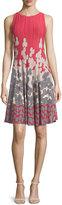 Nic+Zoe Posie Twirl Fit-and-Flare Dress, Petite