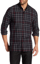 Peter Werth Keen Gingham Trim Fit Shirt