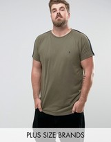 French Connection Plus Long Line Cut And Sew Shoulder Panel