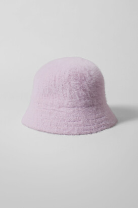 Weekday Rho Bucket Hat - Beige