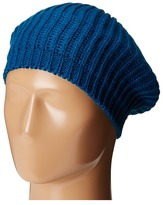 San Diego Hat Company KNH3431 Knit Beret with Ribbed Opening