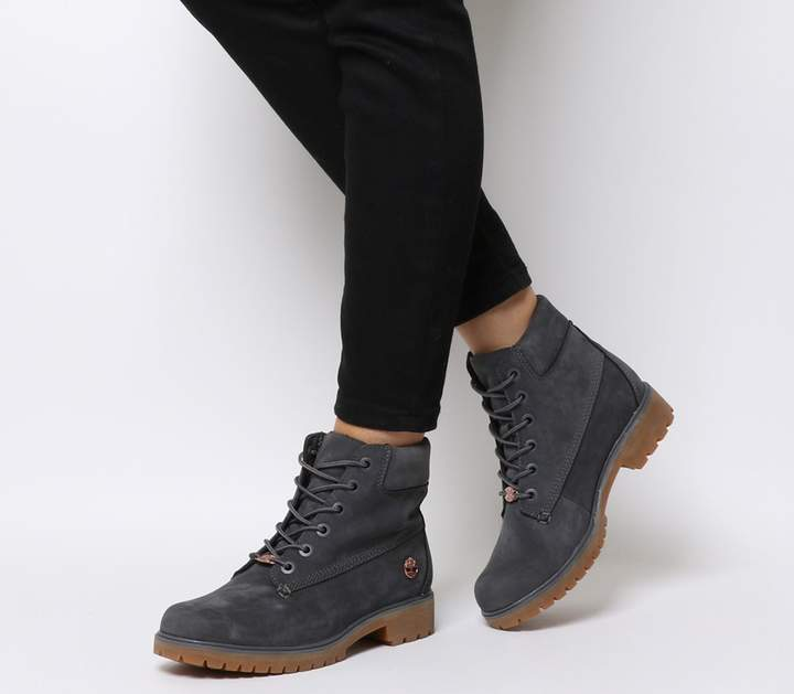 caac09549b31d Grey Timberland Boots - ShopStyle UK