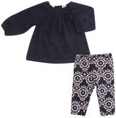 Babies R Us Cynthia Rowley Oh, Baby Swing Top and Legging Set - Blue & Pink (6-9 Months)