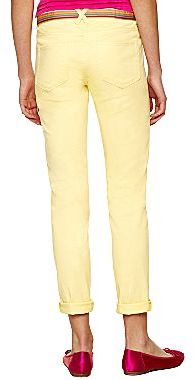 JCPenney Belted Roll-Cuff Skinny Pants