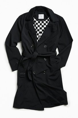 Urban Outfitters Double-Breasted Trench Coat
