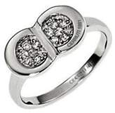 Cerruti R22008Z56-Women's Ring Sterling Silver 925/1000 4.8 g with Zirconia Metallic