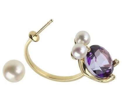 Delfina Delettrez Magic puppy piercing earrings