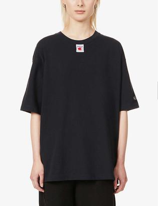 Champion x Craig Green graphic-print cotton-jersey T-shirt