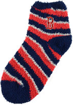 For Bare Feet Boston Red Sox Sleep Soft Candy Striped Socks