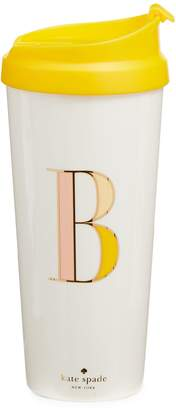 Kate Spade Initial Thermal Travel Mug