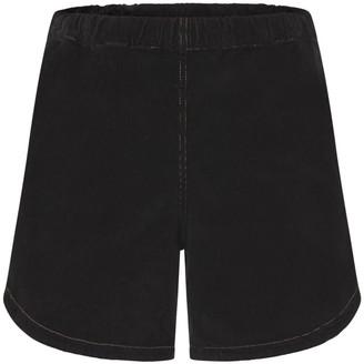 Theavant Korina Corduroy Short In Black