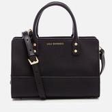 Lulu Guinness Women's Mini Daphne Smooth Leather Cross Body Bag - Black