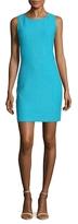 St. John Windy Scoopneck Sheath Dress