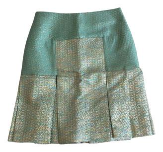 Richard Nicoll Turquoise Wool Skirt for Women