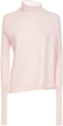 Marques Almeida MarquesAlmeida Draped Viscose-knit Turtleneck