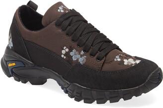 Cecilie Bahnsen Max Floral Taffeta Hiking Sneaker