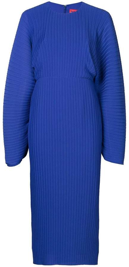 SOLACE London oversized sleeves dress