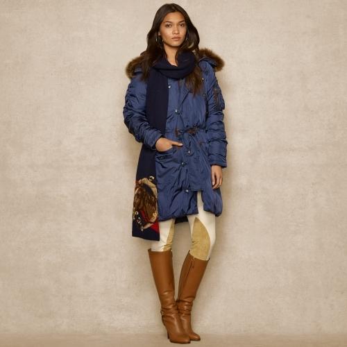 Ralph Lauren Blue Label Snorkel Parka Coat